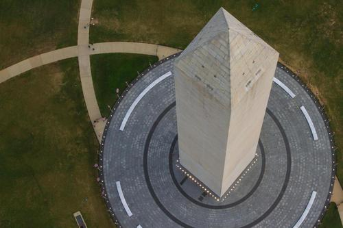 Here is a unique view of the Washington Monument you don't see every day. (Photo: Diana Bowen, National Park Service)